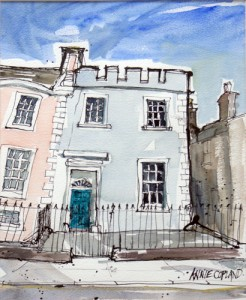 Kirkcudbright - Blue Door