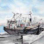 Trawler - Kirkcudbright Harbour