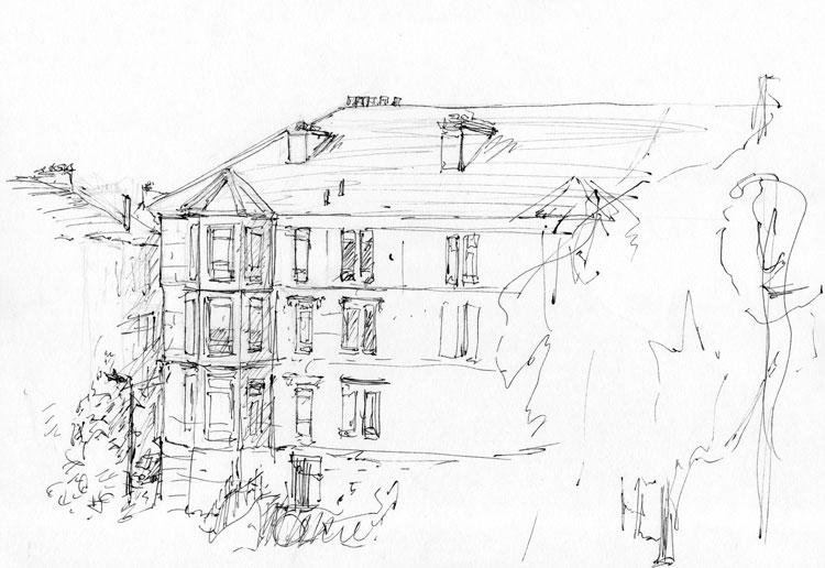 Glasgow-Tenements-line-drawing-rough-web