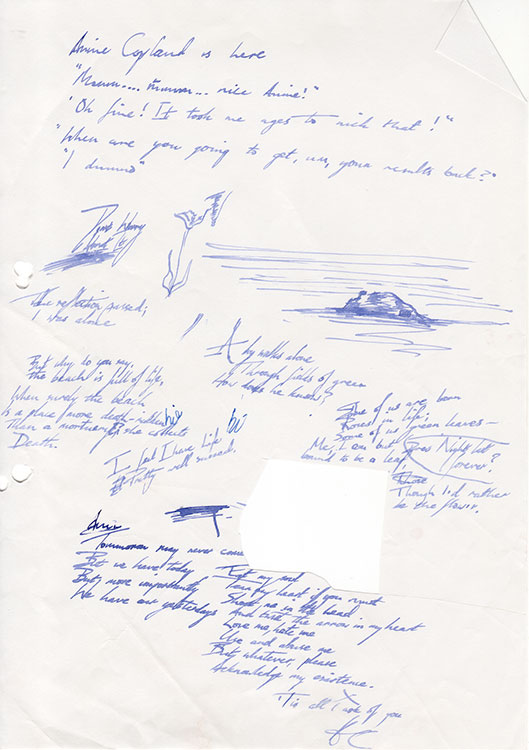 Blue-pen-doodles-and-handwriting-c1995-web