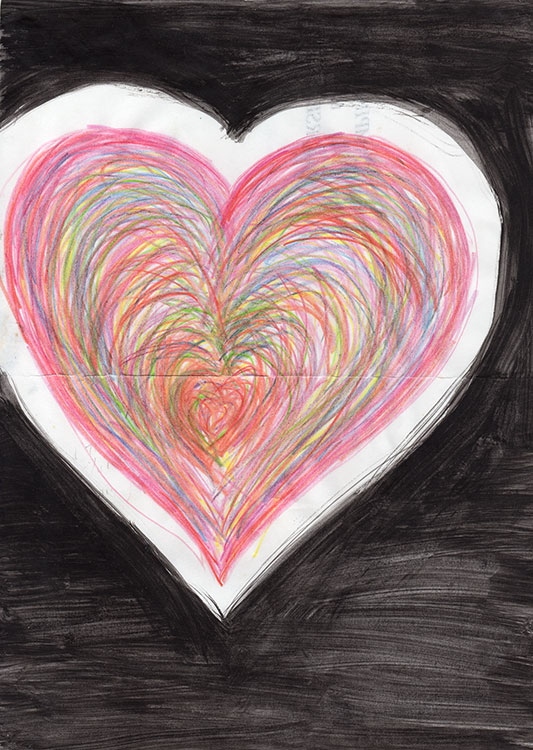 Coloured-Heart-in-Black-abstract-web
