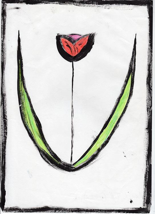 Reach-Tall-abstract-flower-web