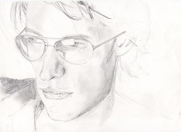 Man-with-glasses-B&W-pencil-sketch-web