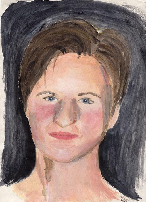 Self-Portrait-Acrylics-c1995-web