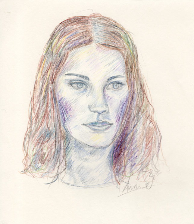 Woman-with-Blue-Face-Coloured-Pencil-drawing-c1990s-web