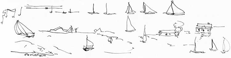 Notes-To-Boats-doodle-B&W-sketch-web