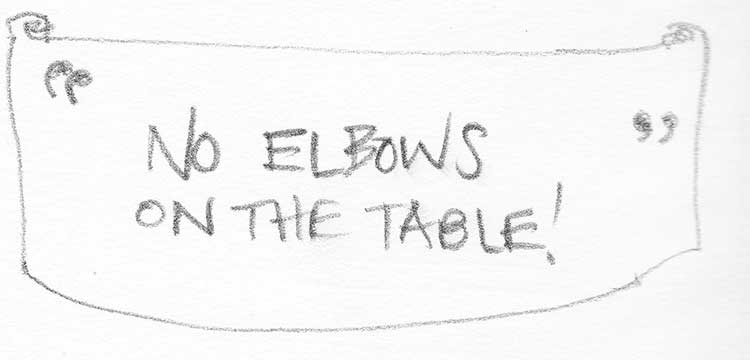 No-elbows-on-the-table
