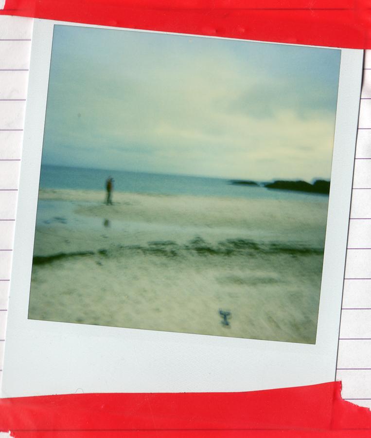 Figure-on-Clachtoll-beach